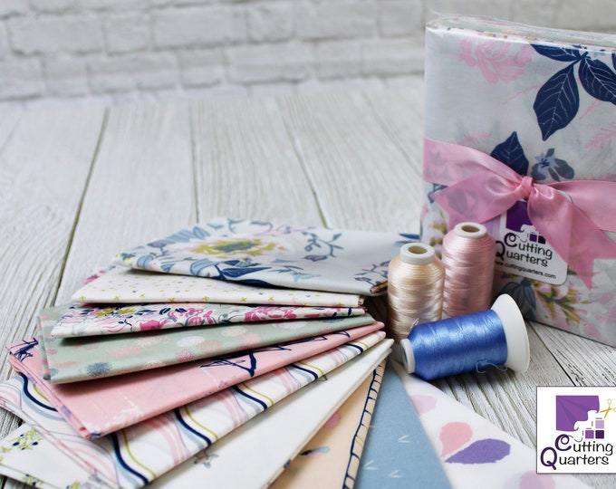 Ethereal Fusion 10-Piece Fat Quarter Bundle by Katarina Roccella for Art Gallery Fabrics, 100% Premium Cotton