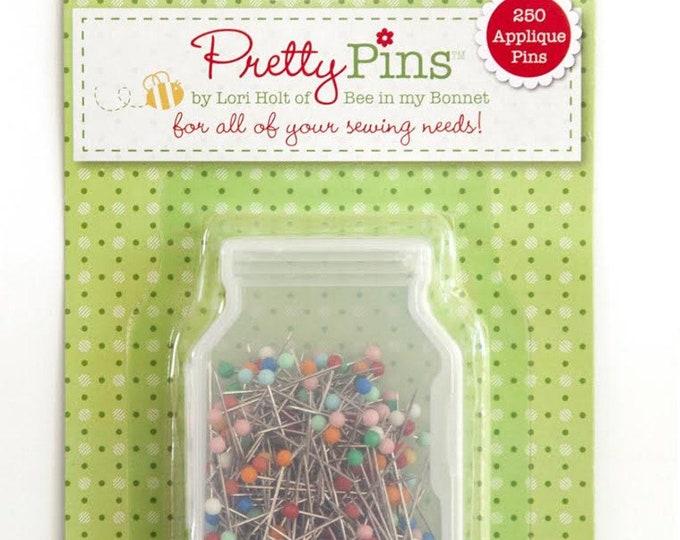 Riley Blake Applique Pretty Pins by Lori Holt - 250 Appliqué Pins