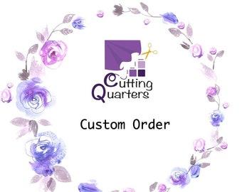 Custom Order for Kimberly Everett