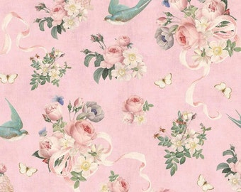 Yard 12 Yard Riley Blake Rose /& Violet/'s Garden Dots Blush Fat Quarters 100/% Cotton Sewing and DIY Crafts Great for Quilting