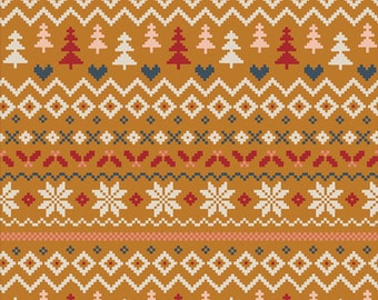 Cozy & Magical - Warm and Cozy Caramel by Maureen Cracknell for Art Gallery Fabrics, 100% Premium Cotton