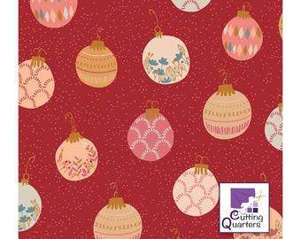 Cozy & Magical - Deck the Halls by Maureen Cracknell for Art Gallery Fabrics, 100% Premium Cotton