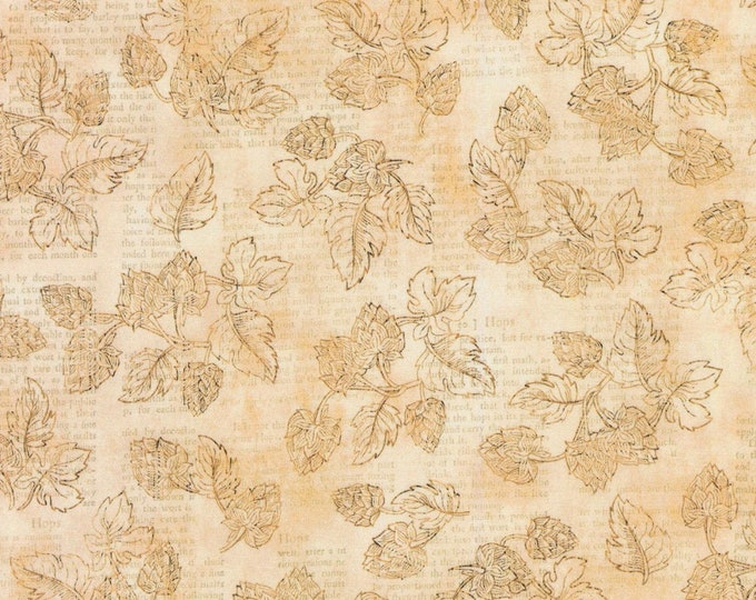 Robert Kaufman Cheers-Parchment, Fat Quarters, 1/2 Yard, Yard, 100% Cotton Fabric, Great for Quilting, Sewing and DIY Crafts