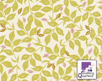 Velvet - Woodcut Sunrise by Amy Sinibaldi for Art Gallery Fabrics, 100% Premium Cotton
