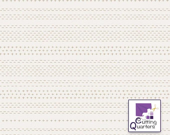 Soften the Volume - Sashiko Mending by AGF Studio for Art Gallery Fabrics, 100% Premium Cotton