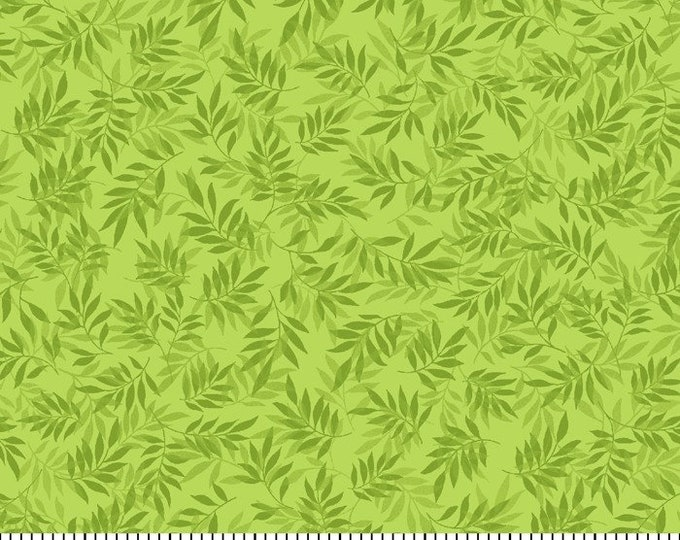 Sweden Vineyard-Green Glow, Fat Quarter, 1/2 Yard, Yard, 100% Cotton Fabric, Great for Quilting, Sewing & Crafts