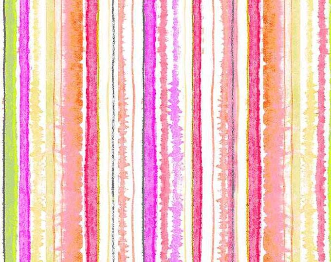 Timeless Treasures Spring Song Stripe-Pink - CD8621, Fat Quarter, 1/2 Yard, Yard, 100% Cotton Fabric