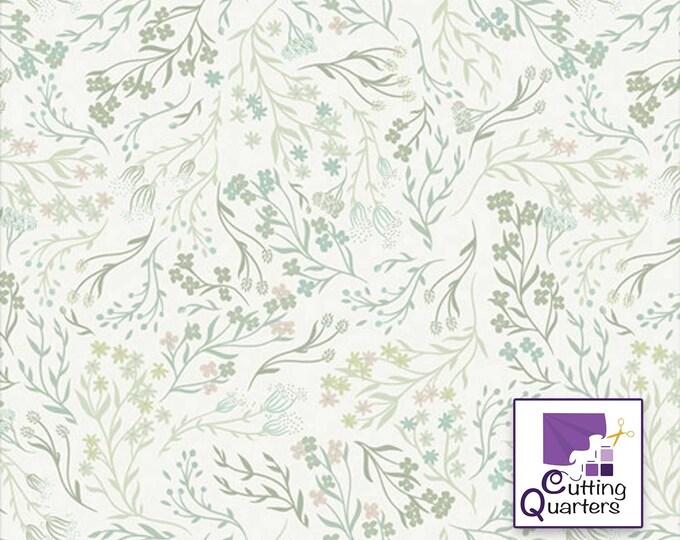 Vert Fusion - Windswept Vert by AGF Studio for Art Gallery Fabrics, 100% Premium Cotton