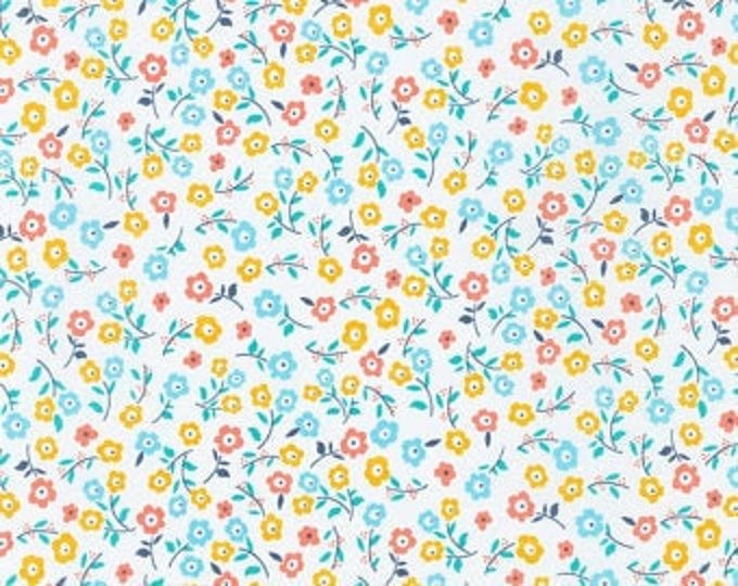 Robert Kaufman Bees Knees - Spring Floral, Fat Quarters, 1/2 Yard, Yard, 100% Cotton, Great for Quilting, Sewing and DIY Crafts