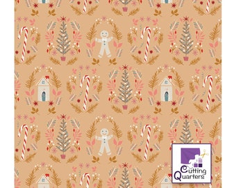 Cozy & Magical - Ginger Joy Sweet by Maureen Cracknell for Art Gallery Fabrics, 100% Premium Cotton
