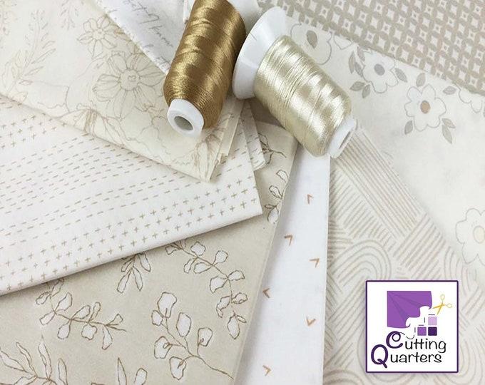 Soften the Volume 10-Piece Fat Quarter Bundle by Art Gallery Fabrics, 100% Cotton Fabric