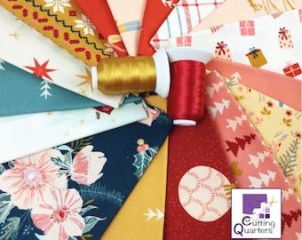 Cozy & Magical 16-Piece Fat Quarter Bundle by Maureen Cracknell for Art Gallery Fabrics, 100% Premium Cotton