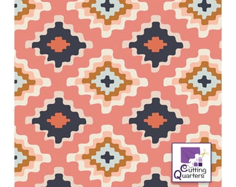 Homebody - Native Tapestry by Maureen Cracknell for Art Gallery Fabrics, 100% Premium Cotton