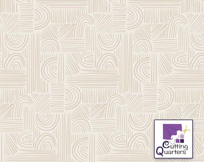 Soften the Volume - Moment of Zen by AGF Studio for Art Gallery Fabrics, 100% Premium Cotton