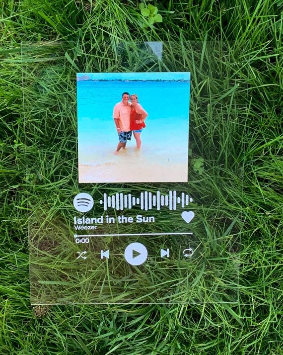 Copertina album Spotify personalizzato