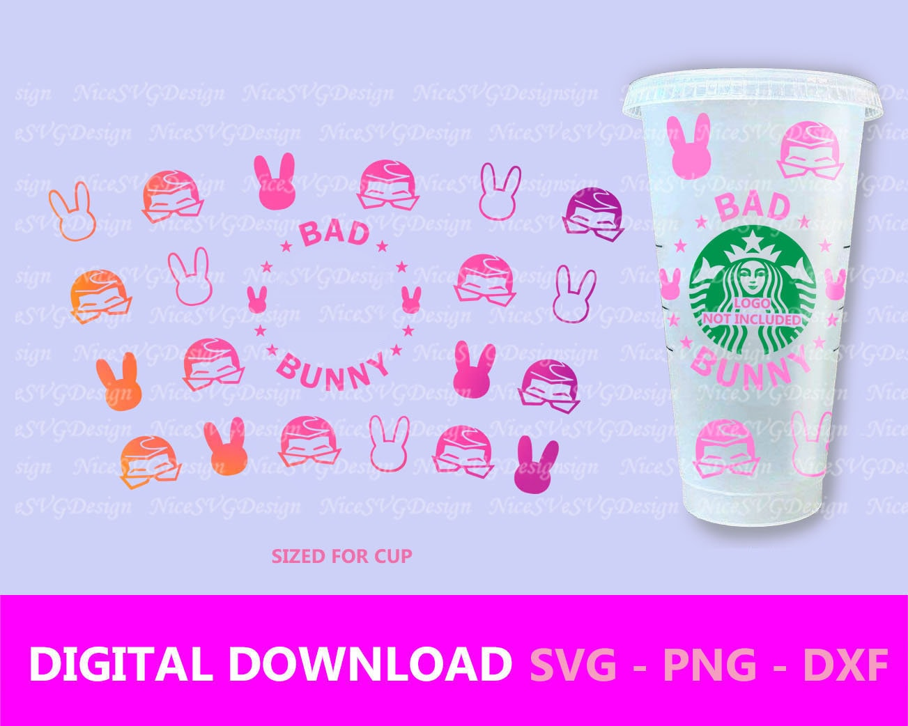 Mugs png Silhouette Snake Starbucks wrap Venti 24 Oz Cup Poster svg Best for DTG Invitation etc dxf files Cricut T-shirt