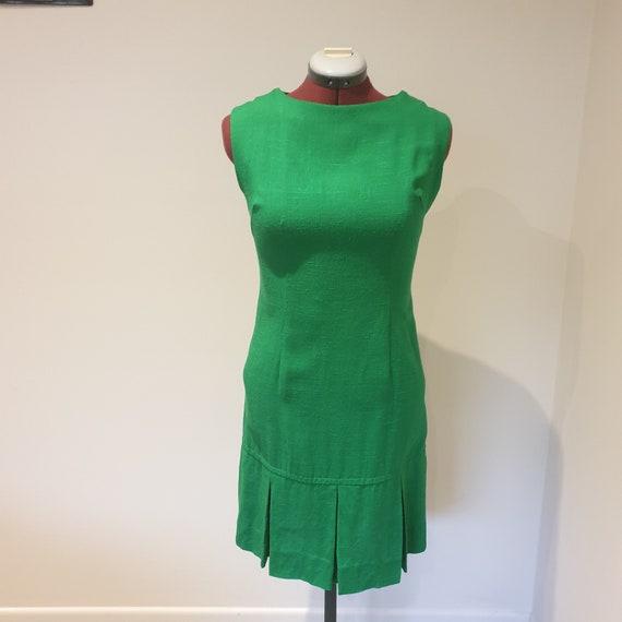 Vintage 1970s cotton shift dress