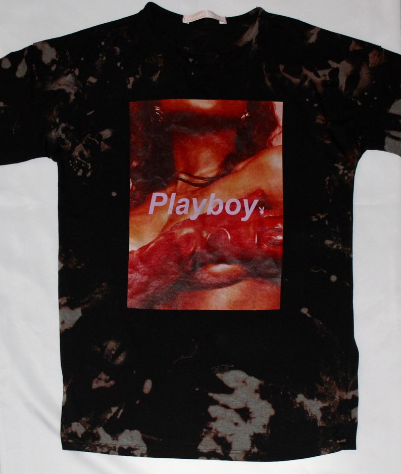 Playboy Tie Dye Long Sleeve T-Shirt