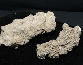 3 to 5 inches 3 Fulgurite Lightning Sand Glass Tubes Natural Fulgurite Sand Stone Tubes Puerto Rico Lightning Fused Beach Sand Fulgurite
