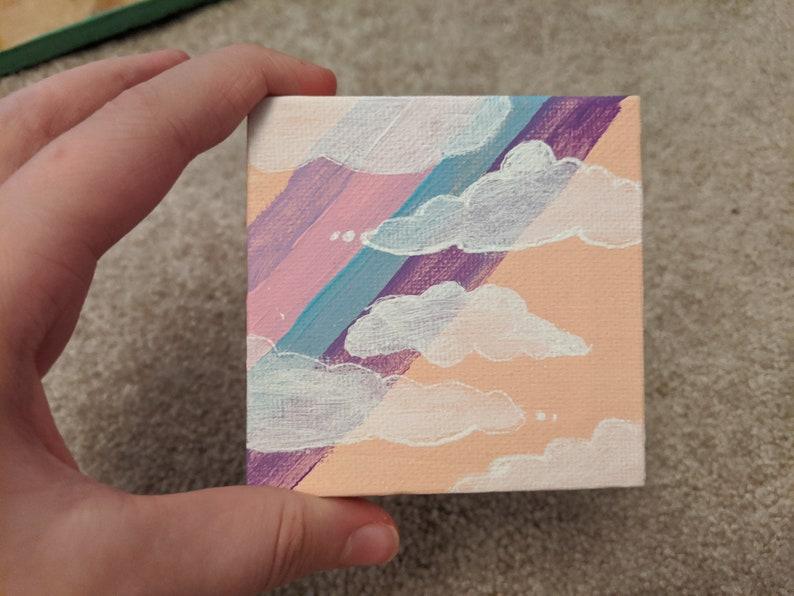 Pastel Mini Painting