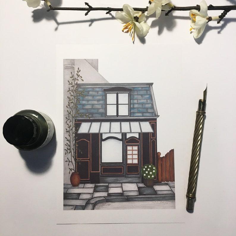Postcard Shop Ella format A5