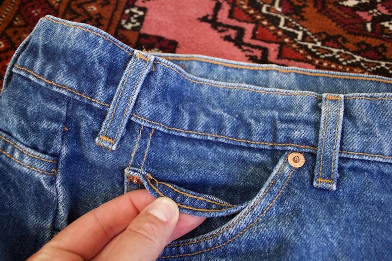 Levi/'s 505 Orange Tab Made in USA Denim Jeans 90s 38x30