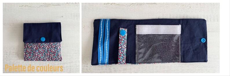 accessory fabric pouch Pocket bag personalized gift zipped kit handbag handbag clutch zipped pouch fabric