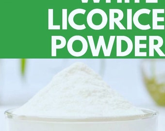 Licorice Extract Powder, WHITE