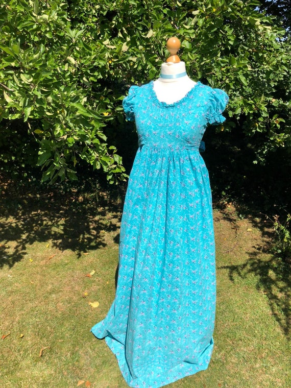 Laura Ashley - Made in Wales - Prairie dress size