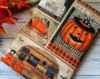 Last One!!  Spooky Night   Happy Halloween Jack O' Lantern Boo! Pumpkins Book Sleeve * Booksleeve/iPad/Tablet Cover