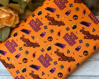 Scooby Doo Character Halloween Costumed Orange   Where Are the Scooby Snacks Book Sleeve * Booksleeve/iPad/Tablet Cover