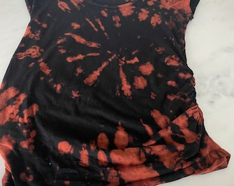 One of a kind reverse dyed maternity dress