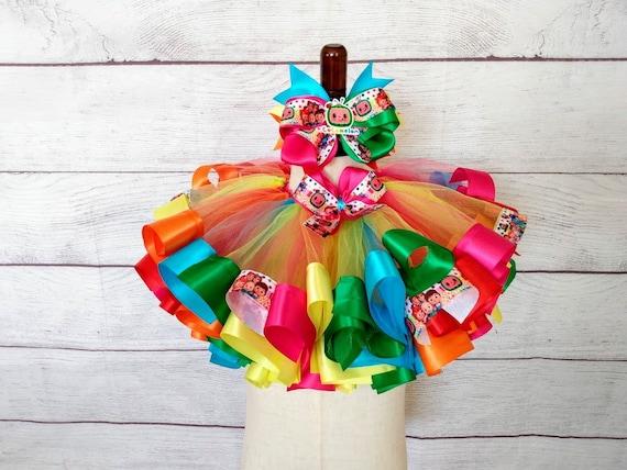 CocoMelon Ribbon Tutu outfit