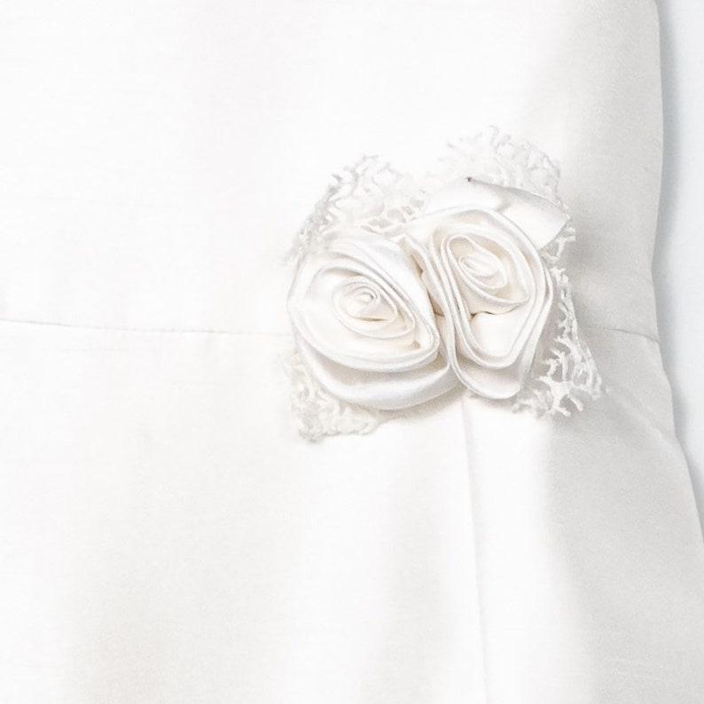 White Lace Dress-Baby Girl Lace Dress-Lace Girls Dress-Communion Dress-Pageant Dress-Cotton Flower Girl Dress-Photoshoot Dress-Girl Dress