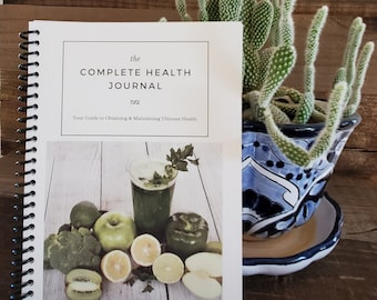 The Complete Health Journal - Physical Product