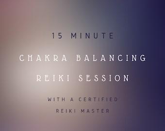 Same Day Chakra Balancing Reiki Session