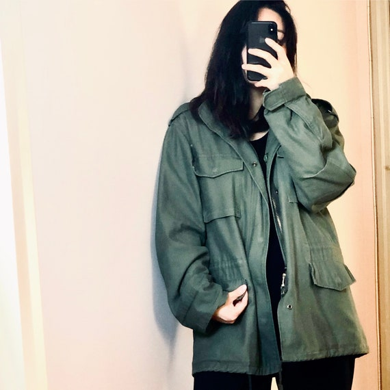 Vintage M65 field jacket with liner, vintage army