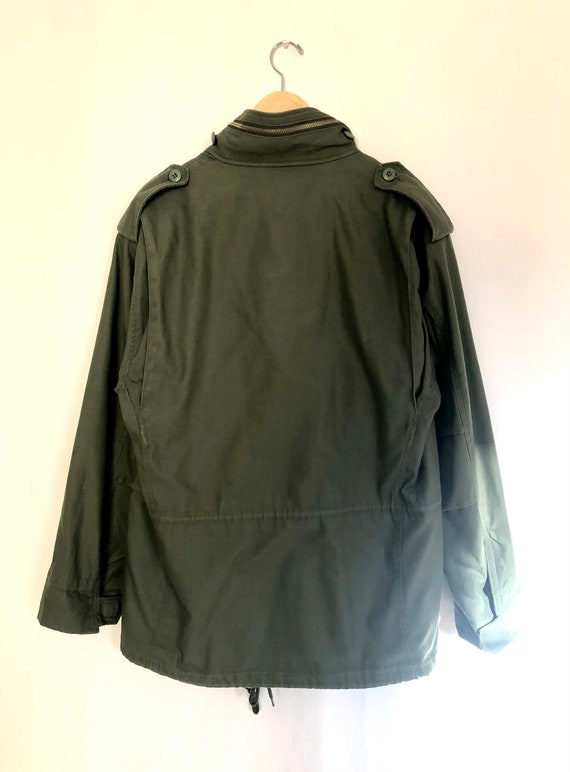 Vintage M65 field jacket with liner, vintage army… - image 3