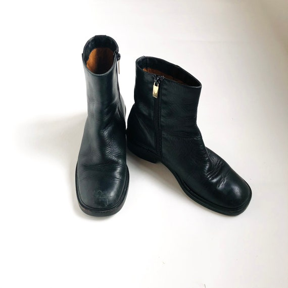 Vintage Gucci Ankle Boots, vintage shoes, vintage