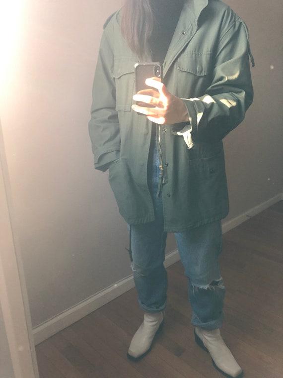 Vintage M65 field jacket with liner, vintage army… - image 8