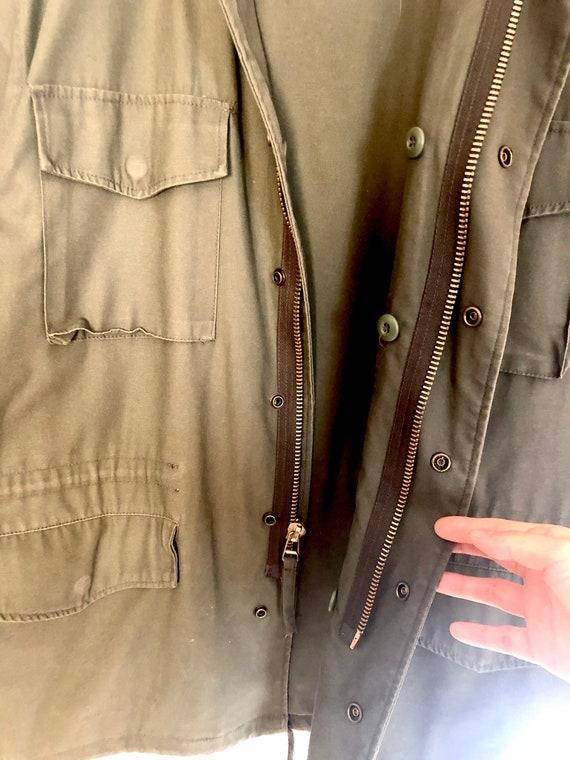 Vintage M65 field jacket with liner, vintage army… - image 6