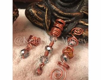 Copper /& Diamond Loc Jewels