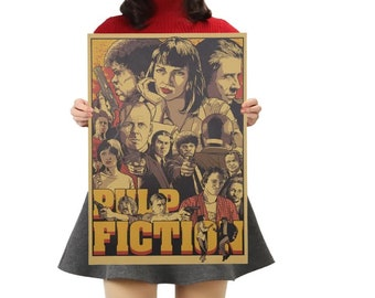 Pulp Fiction Quentin Tarantino Poster Classic Movie 30 24x36in Y-591
