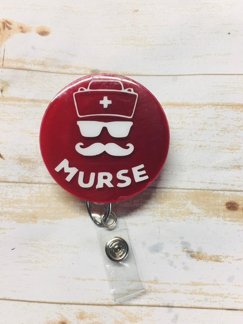 Murse Interchangeable badge reel