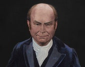 The Real Face of President John Quincy Adams