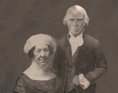 Dolley and James Madison Lost Daguerreotype Print 8x10 Signed