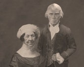 Dolley and James Madison Lost Daguerreotype Print 5x7 Signed