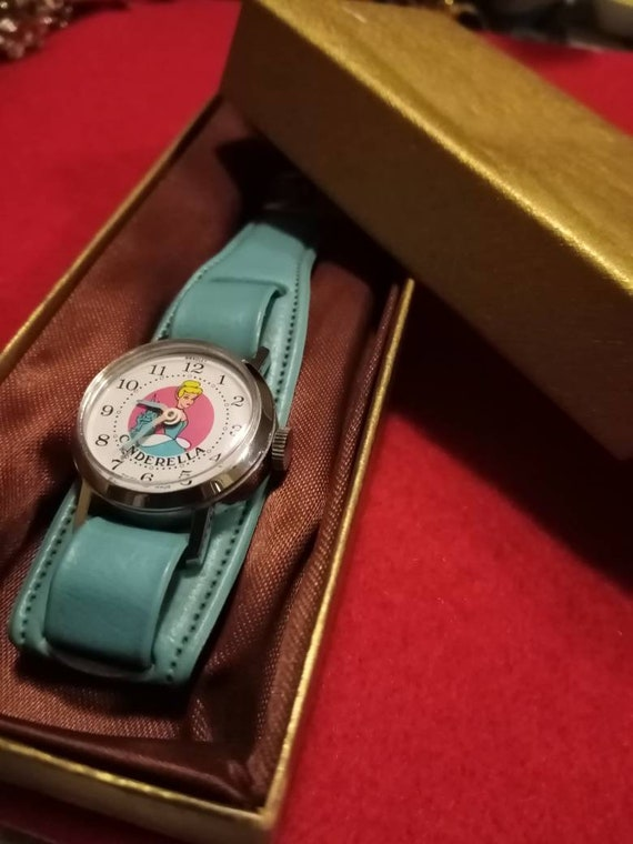Walt Disney vintage Cinderella Watch.