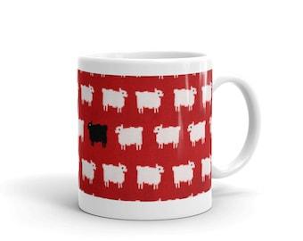 Princess Diana Black Sheep Mug