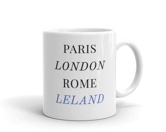 Leland, Michigan Mug